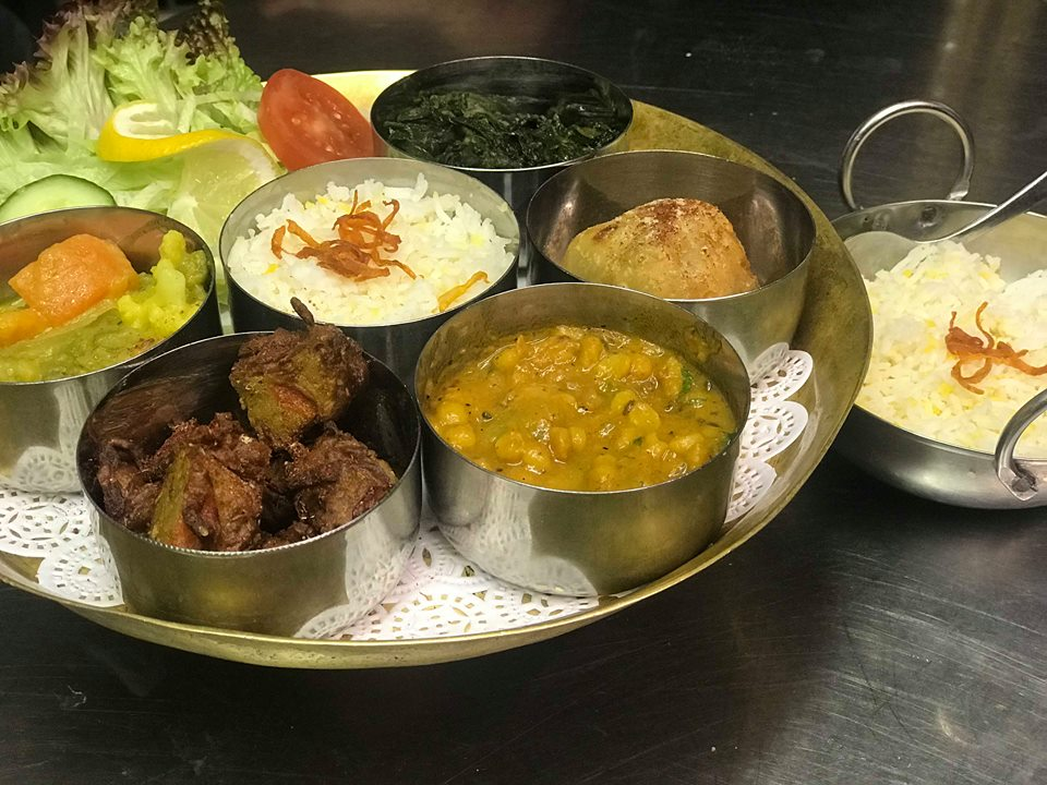 publicatie vegan thali